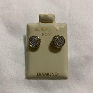 Pagoda Diamond earrings unisex